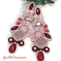 Fulfill a Wedding Tradition with Estate Bridal Jewelry Soutache Earrings, Big Earrings, Wedding Earrings, Groom Accessories, Wedding Hair Accessories, Handmade Beaded Jewelry, Earrings Handmade, Etsy Jewelry, Bridal Jewelry