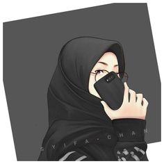 Muslim Pictures, Muslim Images, Cartoon Girl Images, Cute Cartoon Girl, Cute Muslim Couples, Muslim Girls, Hijabi Girl, Girl Hijab, Hijab Dp