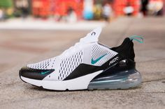 Nike Air Max 270 AH8050-001 White Green Black Shoes for Sale-02