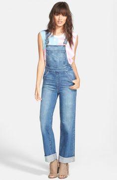 Wildfox Ladonna Straight Leg Overall Idol   Clothing
