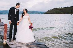 Vestido de novia en organza. mas en  www.ginablanco.com