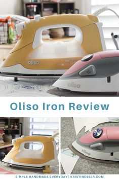 Oliso Iron Review (TG1600Pro Smart Iron + Mini Project Iron) - Simple. Handmade. Everyday.