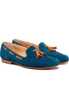 Zaccaro - Zapato Anna W. azul