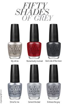 Start Afresh With These New 2020 Spring Nail Colors Opi Gel Nails, Opi Gel Polish, Fingernails Painted, Grey Nail Polish, Opi Nail Colors, Gel Polish Colors, Gray Nails, Nail Polish Trends, Nail Polishes