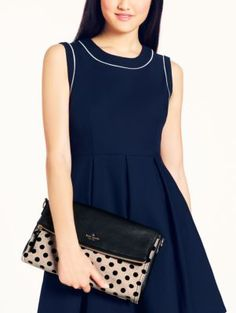 cobble hill canvas dot carson - kate spade new york. // love and may me next bag