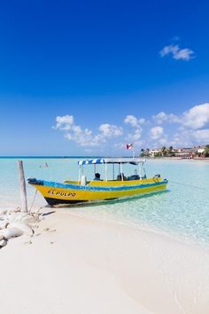 Isla Mujeres, Mexico. gorgeous water and sky!