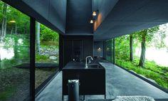 Vipp Hotels Shelter - Zurück zur Natur im Mini-Haus, Minimalism, Ferien in Schweden