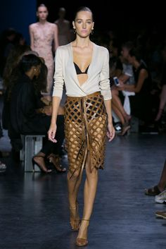 A look from the Altuzarra Spring 2015 RTW collection.