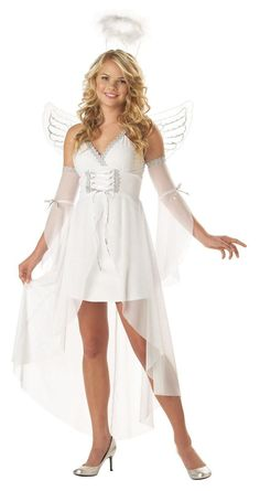The Heaven's Angel Adult Costume is the perfect 2019 Halloween costume for you. Show off your Womens costume and impress your friends with this top quality selection from Costume SuperCenter! Spongebob Halloween Costume, Halloween Costumes Party City, Teenage Halloween Costumes, Halloween Costumes For Girls, Halloween Dress, Adult Costumes, Costumes For Women, Angel Costumes, Adult Halloween