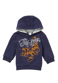 Disney Tigger hoodie - my little man looks gorgeous in this!