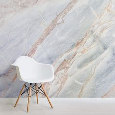 Our Soft Natural Marble Wallpaper features a soft texture and looks pure from any angle, ideal for those who prefer simple decor whilst remaining elegant.
