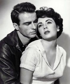 "Montgomery Clift & Elizabeth Taylor  ""A Place In the Sun"""