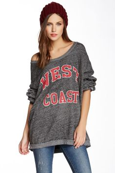 West Coast pullover