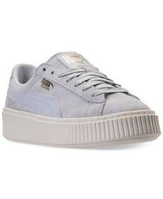 puma sneaker platform blau