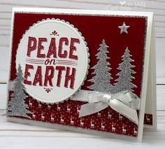 Stampin' Up! Carols of Christmas Peach-Cardiology by Jari