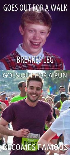 Bad Luck Brian vs Ridiculously Photogenic Guy