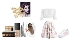 fashion styling project by ioannaelli on Polyvore featuring Sans Souci, adidas, NARS Cosmetics and MAC Cosmetics