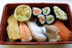 Sushi selection 'A', Kulu Kulu Sushi