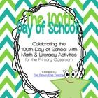 A free mini-unit intended for the primary classroom, this download includes:10th Day Morning Work100th Day Challenge Cards (11)Place Value