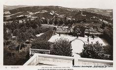 Colegio del Sagrado Corazón de Neguri. Plazuela de recreo y vista del monte (cedida por Indalecio Astobiza) (ref. 05944) Foto: Roisin