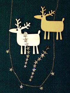 You deserve the stars! Yellow gold and diamond dangling star earrings sparkle from across the room. Delicate diamond star necklace adds magic to any outfit, day or night.