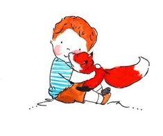 Gris et son renardArchiv...