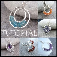 Wire Jewelry Tutorial  LACE UPS Pendants and par KSJewelleryDesigns, $5.00