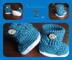 Charlotte Marie Booties By Sheri Weber - Free Crochet Pattern - (ravelry)