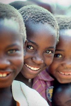 Children, Smiling Boys, Zimbabwe, Africa