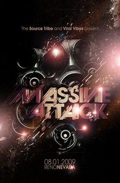 Massive Attack on Behance
