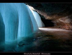 ice waterfall! gorgeous.