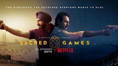 Saif Ali Khan and Nawazuddin Siddiqui in Sacred Games Reveiws and Ratings Hindi Movies Online, Movies To Watch Online, Netflix Original Series, Netflix Series, Mumbai, Most Popular Tv Shows, Crime, Movie Plot, Video Trailer