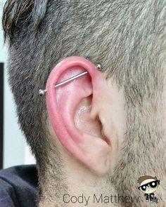 ear piercings for guys left ear