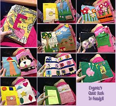E's Quiet Book Little Princess, Plushies, Playing Cards, Toys, Crochet, Activity Toys, Stuffed Animals, Playing Card Games, Clearance Toys