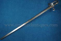 http://armsandantiques.com/fine-antique-european-german-or-spanish-17th-c-rapier-or-backsword-es866