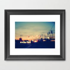 We're only young once Framed Art Print by Laura Ruth  - $36.00