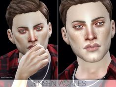 Jensen Ackles by Pralinesims at TSR via Sims 4 Updates Check more at http://sims4updates.net/sims/jensen-ackles-by-pralinesims-at-tsr/