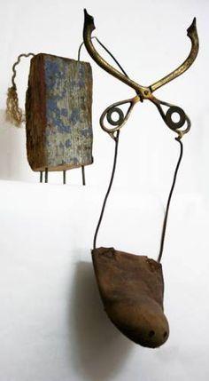 Driftwood art Christian Voltz Animal Sculptures, Sculpture Art, Quirky Art, Art Brut, Found Object Art, Art Thou, Junk Art, Craft Projects For Kids, Assemblage Art