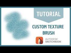 How I created my custom brush in Autodesk Sketchbook Sketchbook App, Autodesk Sketchbook Tutorial, Watercolor Sketchbook, Watercolor Brushes, Watercolor Art, Brush Drawing, Drawing Tablet, Wacom Intuos Art, Best Brushes