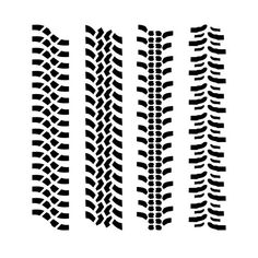 Make tire pattern in one minute with Adobe Illustrator #