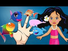 Fish Finger Family Nursery Rhymes for Toddlers Finding Dory - YouTube