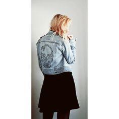denim jacket: ONLY - Dress: H&M