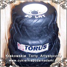 002. Tort dla firmy z oponami. Tyre cake.