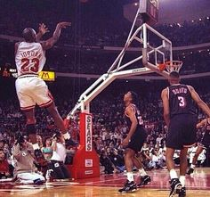 *JORDAN* vs The Miami Heat in  the '92 Eastern Conference 1st Round Playoffs