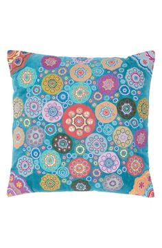 'Geo Floral' Accent Pillow