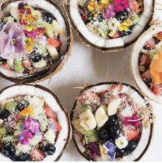 Beautiful smoothie bowl photography