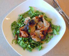 Warmer Birne-Pancetta Salat mit Senf-Dressing - Katha-kocht!