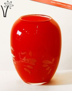 Tischvase Vera Rot Home Decor, Vases, Red, Table, Homemade Home Decor, Decoration Home, Interior Decorating