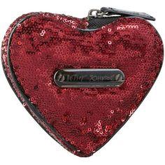 Betsey Johnson Heart Coin Purse