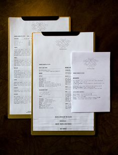 A division of UnderConsideration, cataloguing the underrated creativity of menus from around the world. Restaurant Ad, Restaurant Menu Design, Restaurant Branding, Chinese Restaurant, Polenta, Whiskey Soda, Wood Menu, Bistro Design, Menu Layout